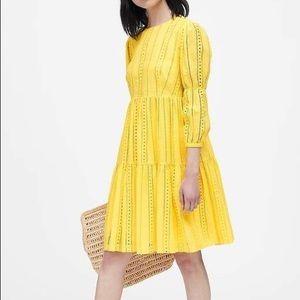 NWT Banana Republic JAPAN COLLECTION eyelet dress